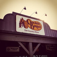 Photo taken at Cracker Barrel Old Country Store by Jonathan C. on 1/3/2013