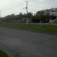Photo taken at Parque Central Parques del Bosque by Fernando L. on 10/10/2012