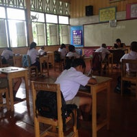 Photo taken at โรงเรียนศาลาพัน by Barbeboo on 10/7/2014