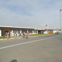 Photo taken at Muş Airport (MSR) by Derya A. on 10/4/2012
