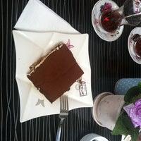 Photo taken at Tiramissu Cafe by Efe on 9/23/2014