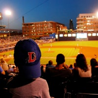 Photo taken at Durham Bulls Athletic Park by Durham Bulls Athletic Park on 9/4/2014
