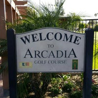Photo taken at Arcadia Golf Course by Joe Y. on 8/30/2015