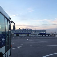 Photo taken at Bolshoye Savino International Airport (PEE) by alexey z. on 10/13/2012