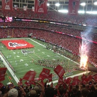 Photo taken at Georgia Dome by Rich F. on 1/13/2013