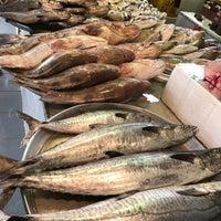 Photo taken at Qatif fish market by Menhal I. on 3/17/2017