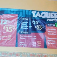 Photo taken at Taqueria Punto y Coma by Sor V. on 9/17/2012
