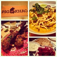 Photo taken at Pig and Khao by Jon N. on 2/28/2013