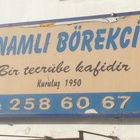 Photo taken at Namlı Börekçi by Umut T. on 12/4/2016