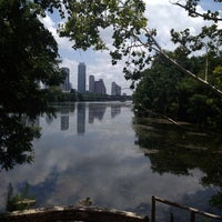 Photo taken at Lady Bird Lake Trail by Veronica B. on 7/17/2013