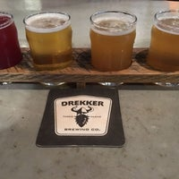Photo taken at Drekker Brewing Company by Chuck C. on 5/20/2017