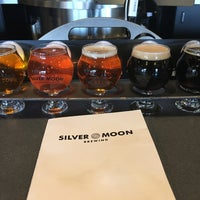 Photo taken at Silver Moon Brewing & Tap Room by Chuck C. on 4/23/2018