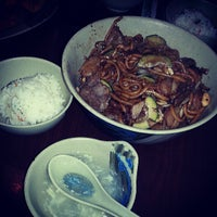 Photo taken at Sizzling Fresh Mongolian BBQ by cedric g. on 5/18/2013