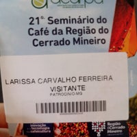 Photo taken at seminario do cafe by Larissa C. on 9/27/2013