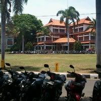 Photo taken at Undiksha by Agus W. on 9/25/2012