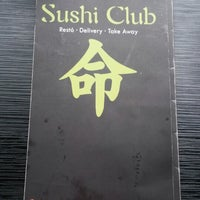Photo taken at SUSHI CLUB by Gonzalo D. on 5/10/2014
