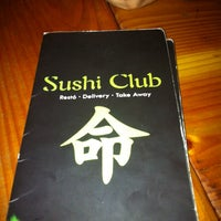 Photo taken at SUSHI CLUB by Gonzalo D. on 2/5/2014