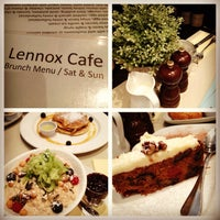 Photo taken at Lennox Café by Cédric on 5/5/2013
