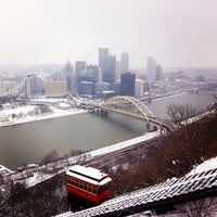 Photo taken at Duquesne Incline by Chris G. on 1/26/2013