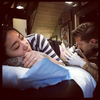 Photo taken at Scapegoat Tattoo by Joel on 7/31/2014