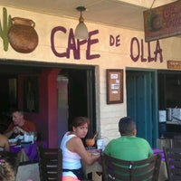 Photo taken at Cafe de Olla by Adolfo C. on 1/27/2013