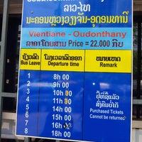 Photo taken at Vientiane Main Bus Station by noboru N. on 5/2/2013