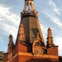 Photo taken at Newham Town Hall by Dave on 9/18/2012