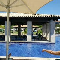 Photo taken at Romanos Costa Navarino Pool by Eleni V. on 8/16/2016