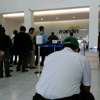 Photo taken at Bank Mandiri by Elmita N. on 7/15/2013