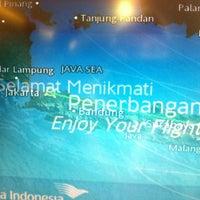 Photo taken at GA319 SUB-CGK / Garuda Indonesia by daddy s. on 7/30/2013