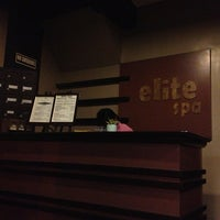 Photo taken at Elite Spa by Bhie A. on 12/22/2012