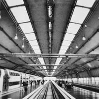Photo taken at Fiumicino Airport Railway Station (ZRR) by Marco K. on 5/31/2013