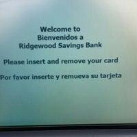 Photo taken at Ridgewood Savings Bank by Handel W. on 3/15/2016