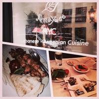 Photo taken at Almayass Restaurant NYC by Radhi on 8/2/2014