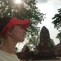 Photo taken at Phra Nakhon Si Ayutthaya by Inna on 3/7/2017