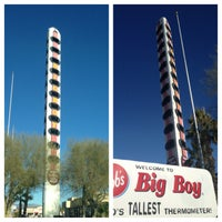 Photo taken at World's Tallest Thermometer by Samira Q. on 2/5/2013