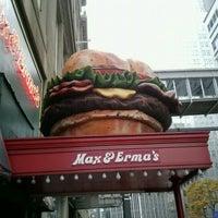 Photo taken at Max & Erma's by Amanda B. on 10/24/2012