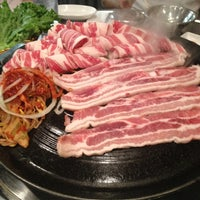 Photo taken at Honey Pig Gooldaegee Korean Grill by Elaina L. on 1/6/2013