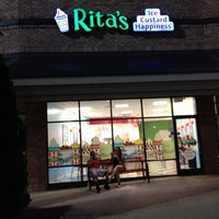Photo taken at Rita's Ice Custard Happiness by Courtney on 5/12/2014