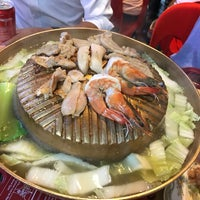 Photo taken at New Udon Thai Food (BBQ Steamboat) by Calvin Y. on 3/14/2018