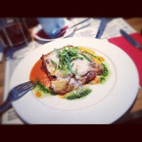 Photo taken at Rucola Ristorante & Pizzeria by Jana M. on 10/7/2012