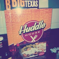 Photo taken at Huddle House - Permanently Closed by Ashley D. on 5/9/2013