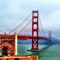 Photo taken at Golden Gate Bridge by Sarah G. on 7/29/2013