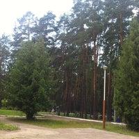 "Photo taken at Пансионат ""Верхневолжский"" by Pim Q. on 7/5/2014"