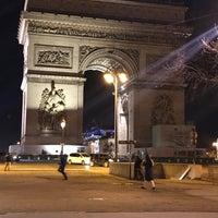 Photo taken at Arrêt Étoile - Grande Armée [73] by Ozgur Alper on 2/12/2018