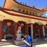 Photo taken at Tien Hau Temple by Eric R. on 3/1/2016
