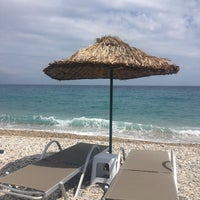 Photo taken at Tuna Beach by Yeşim on 6/27/2018