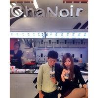 Photo taken at Cha Noir by Ning_Ratthanan on 6/26/2014