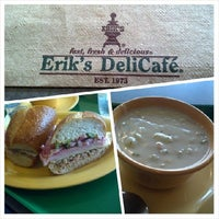 Photo taken at Erik's Delicafe by James A. on 4/1/2014