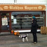 Photo taken at Blokhus Bageren by Arschi on 11/28/2012